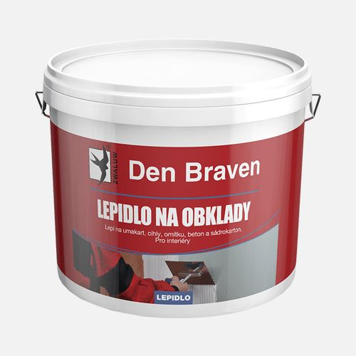 Lepidlo na obklady Den Braven, kbelík 5 kg