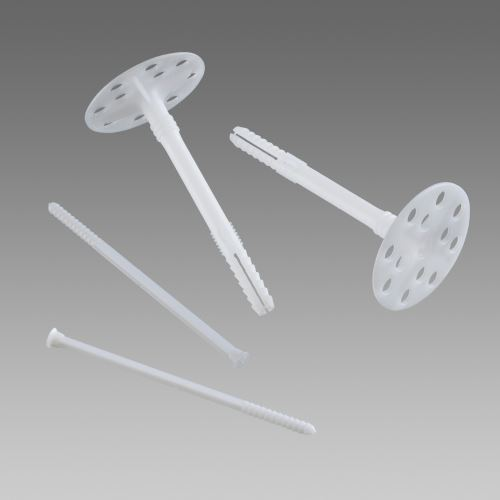 Talířová hmoždinka LTX 10 s plastovým trnem