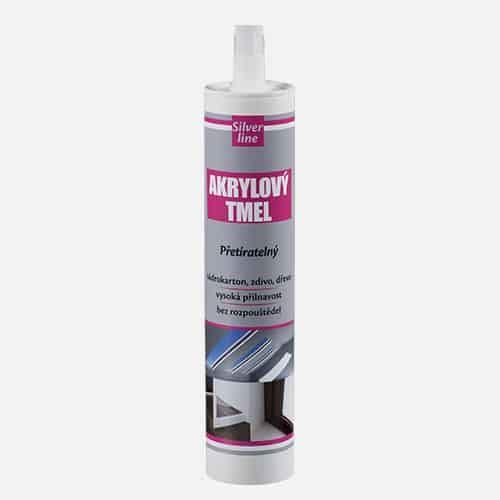 Akrylový tmel Silver line Den Braven, kartuše 310 ml, bílý