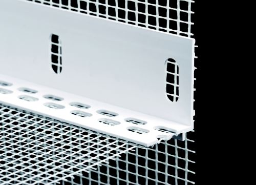 Lišta zakládací úhelníková PVC  2000 mm
