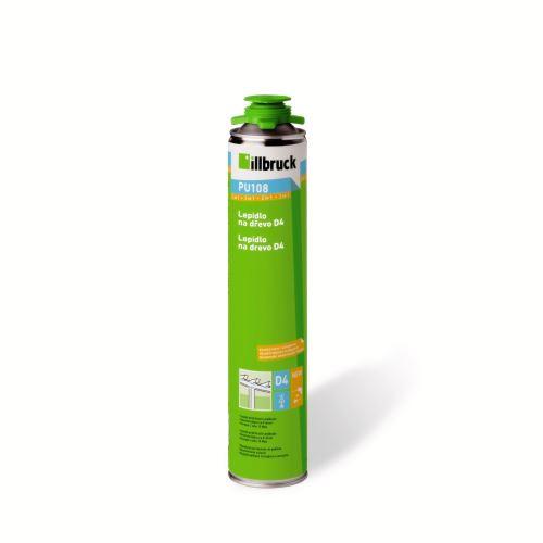 Lepidlo na dřevo D4 ILLBRUCK 750 ml - PU108