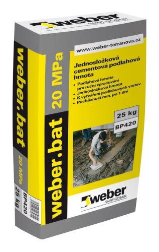 Weber.bat potěr 20 MPa 25 kg