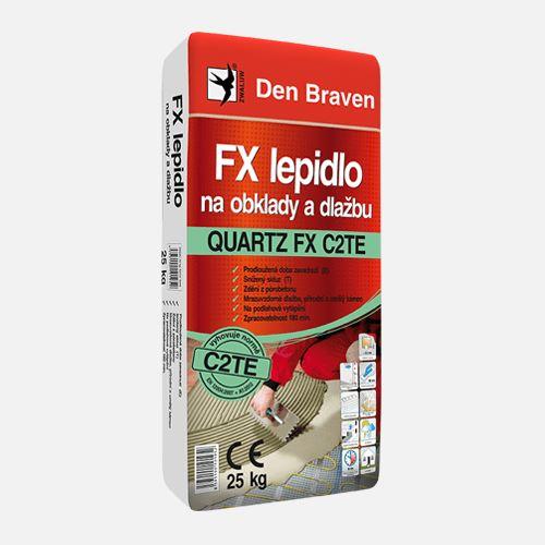 FX lepidlo na obklady a dlažbu QUARTZ FX C2TE Den Braven, pytel 25 kg