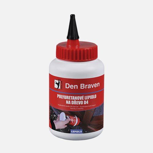 Polyuretanové lepidlo na dřevo D4 Den Braven, dóza 500 g