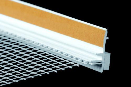 Lišta začišťovací s tkaninou V09 EKO 1600 mm