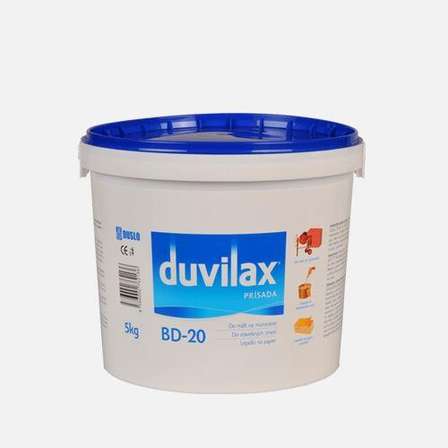 Duvilax BD-20 přísada Den Braven, kbelík 5 kg, bílá