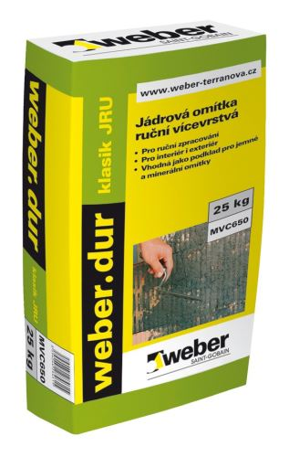 Weber.dur klasik JRU 25 kg