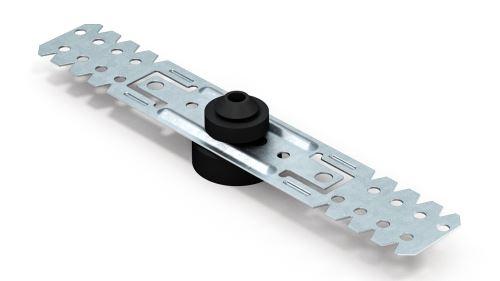 Přímý akustický závěs 50/125 - akustická guma
