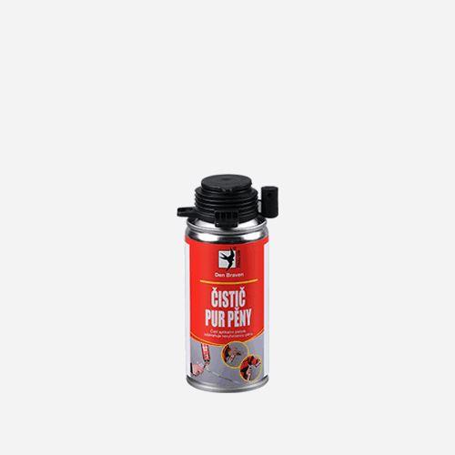 Čistič PUR pěny Den Braven, dóza 150 ml