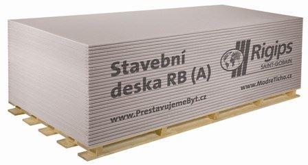 Sádrokarton RB(A) 12,5 Rigips